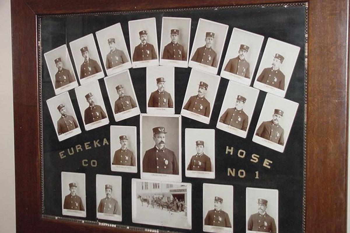 photographs of firemen