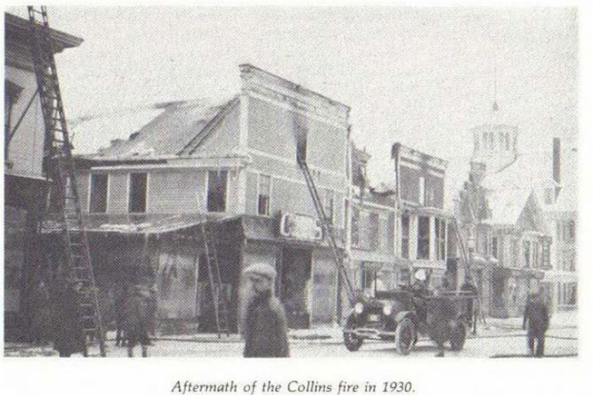 aftermath of fire